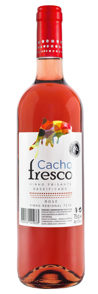 Cacho Fresco Rose semi sparkling